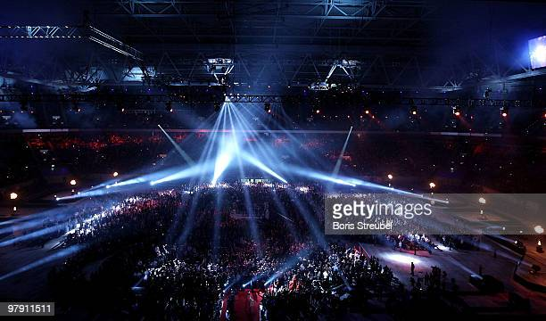 A general overview of the Esprit Arena prior to the WBO IBF and IBO Heavyweight World Championship fight between Wladimir Klitschko of Ukraine and...