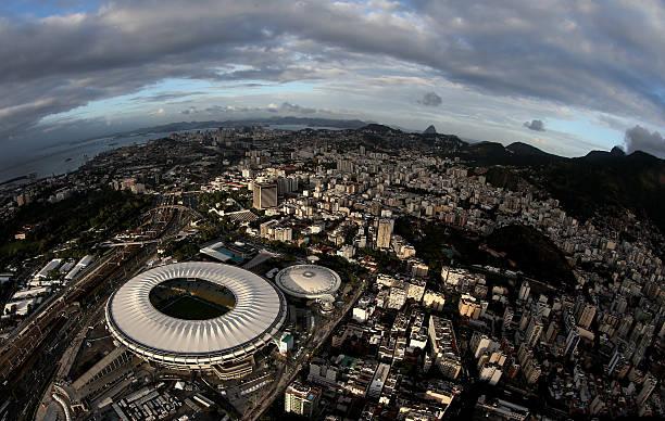 BRA: Aerial Views of Maracana & Rio FIFA Fan Fest - 2014 FIFA World Cup.