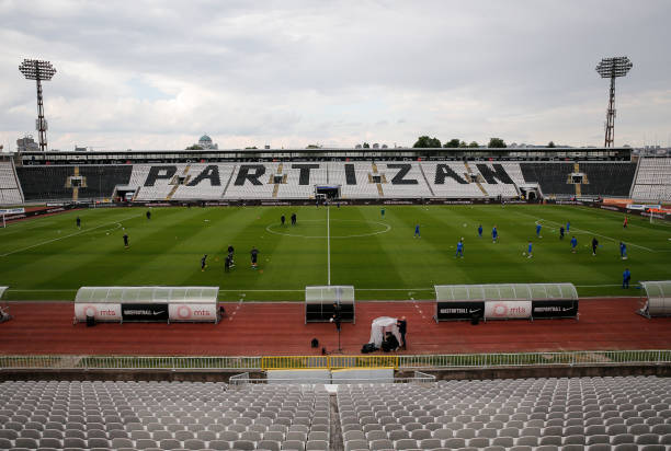 SRB: FK Partizan v FK Mladost - Serbian SuperLiga