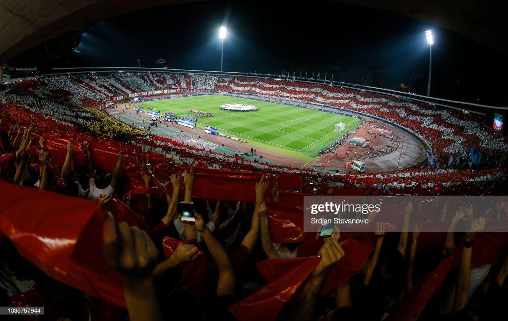 Red Star Belgrade v SSC Napoli - UEFA Champions League Group C : News Photo