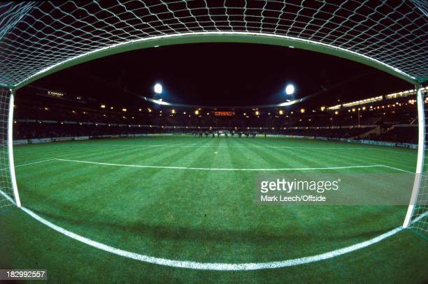 A General panoramic view from inside the goal before the England v Northern Ireland match at Wembley Stadium