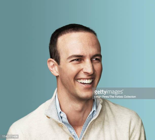 General Partner at Andreessen Horowitz David George is photographed for Forbes Magazine on March 18 2019 in San Francisco California PUBLISHED IMAGE...