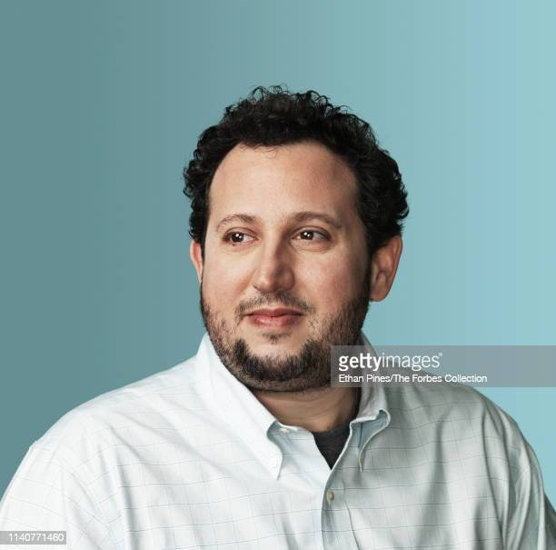General Partner at Andreessen Horowitz David Ulevitch is photographed for Forbes Magazine on March 18 2019 in San Francisco California PUBLISHED...