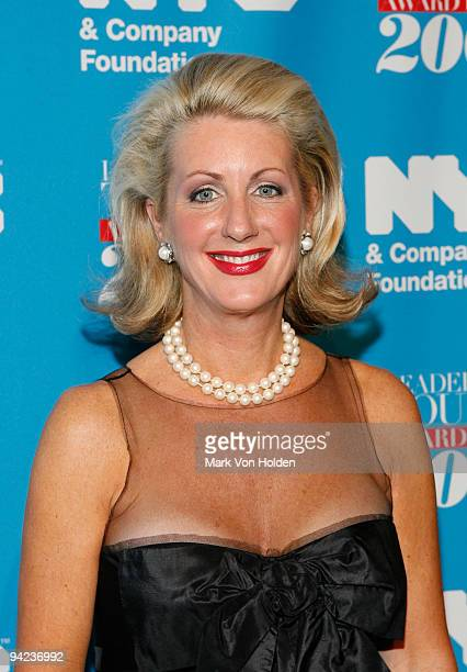 General Partner Vice Chair of the New York Yankees Jennifer Steinbrenner Swindal attends the NYC Company Leadership in Tourism Award Dinner at The...