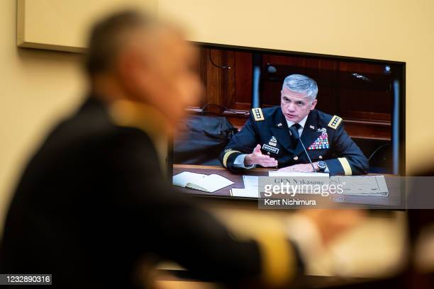 General Paul Nakasone, Director, National Security Agency and Commander, U.S. Cyber Command testifies before the House Armed Services Subcommittee on...