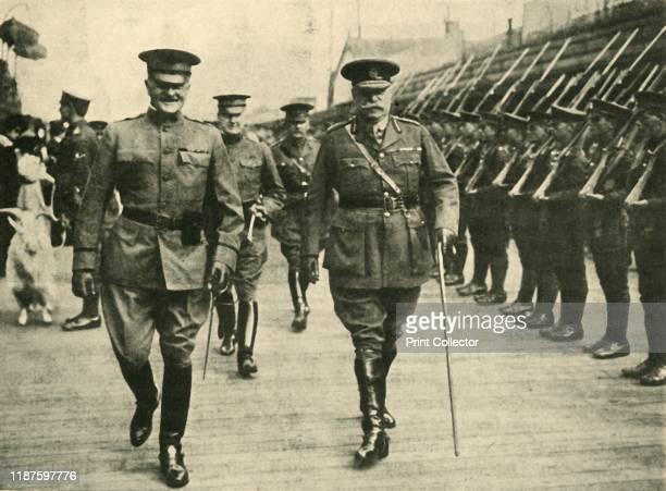 General Pershing and Lieutenant General Pitcairn Campbell First World War 8 June 1917 'CommanderinChief of the American Expeditionary Force...