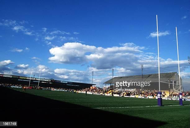 A general picture of Castleford's ground Wheldon Road Mandatory Credit Allsport/ALLSPORT