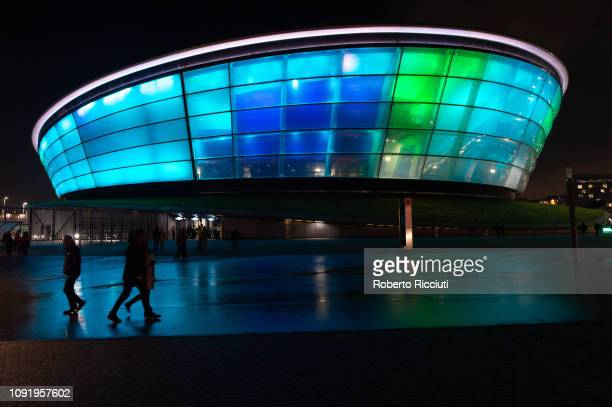 General picture of The SSE Hydro on January 31 2019 in Glasgow Scotland