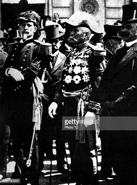 General Porfirio Diaz during an official ceremony Mexico