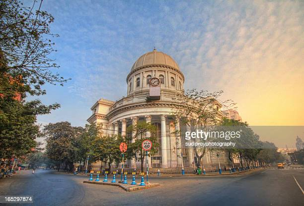 general post office - kolkata stock pictures, royalty-free photos & images