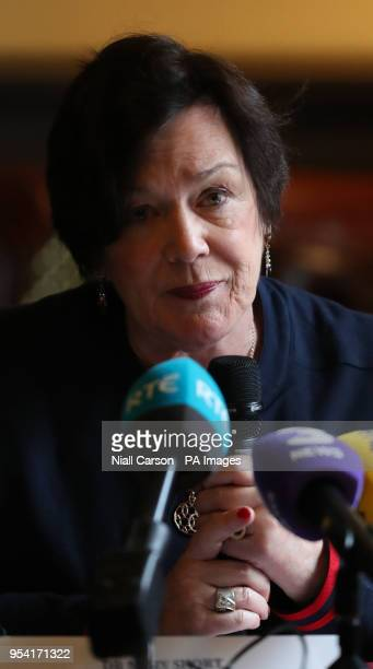 General Practitioner Dr Mary Short from the clinical expert panel of the Health Service Executive during a press conference to address public concern...