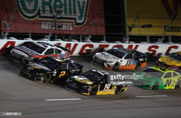General race action during the running of the 70th annual Bojangles Southern 500 on September 1 2019 at Darlington Raceway in Darlington South...