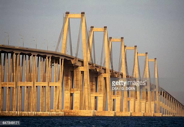General Rafael Urdaneta Bridge 19571962 by Riccardo Morandi Lake Maracaibo Maracaibo Zulia Venezuela