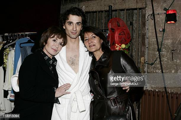General Repeatition Of The Play 'Love Valour Compassion' At The Theater 'La Porte Saint Martin' On February 21St 2005 In Paris France Daniele Evenou...