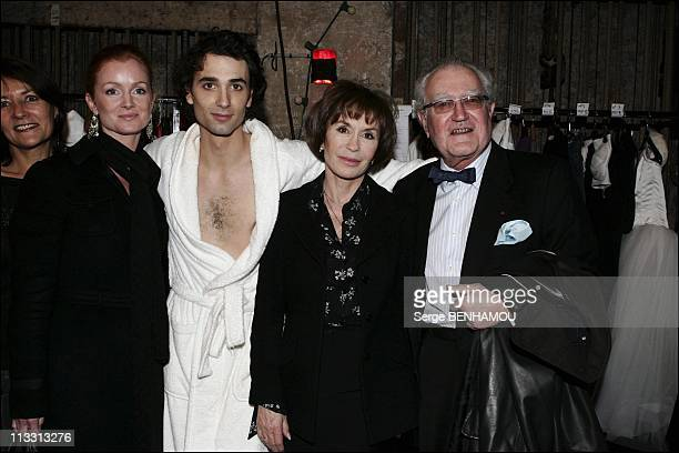 General Repeatition Of The Play 'Love Valour Compassion' At The Theater 'La Porte Saint Martin' On February 21St 2005 In Paris France Celine Martin...