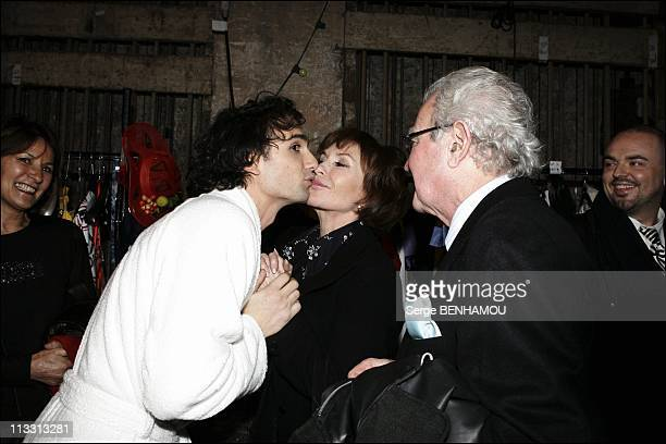 General Repeatition Of The Play 'Love Valour Compassion' At The Theater 'La Porte Saint Martin' On February 21St 2005 In Paris France Jean Baptiste...