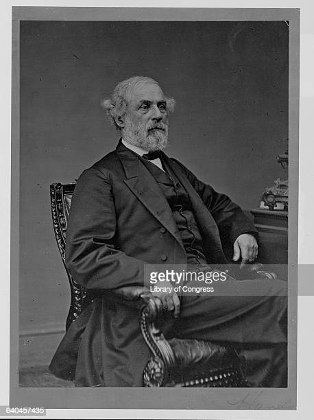 General Robert E Lee Seated