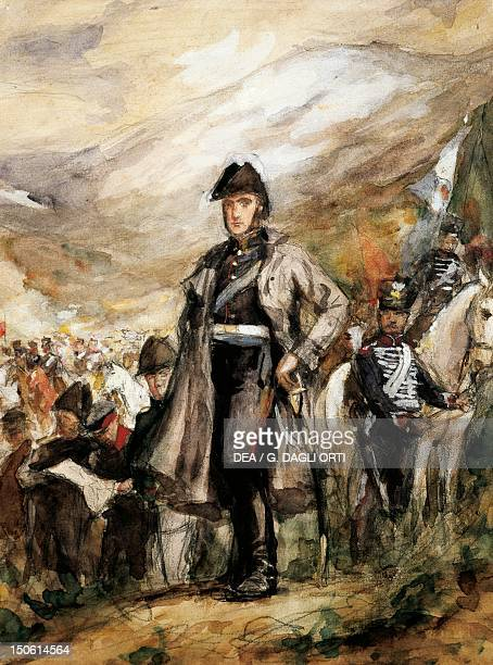 General San Martin crossing the Andes 1817 Chilean War of Independence 19th century