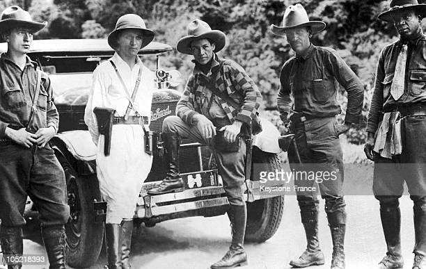 General Sandino As A Refugee In Santa Cruz, Mexico, As He Was Wanted Dead Or Alive In Nicaragua.