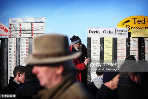 General scenes during the National Hare Coursing Championship meeting at Clonmel Racecourse CoTipperary