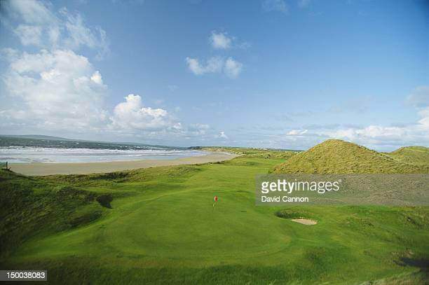 General scenic view from the 17th hole on the Ballybunion course on 1st August 1992 at the Ballybunion Golf Club in Ballybunion, Ireland.
