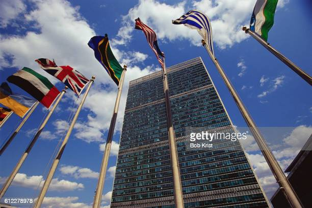 general secretariat building - united nations building stock pictures, royalty-free photos & images