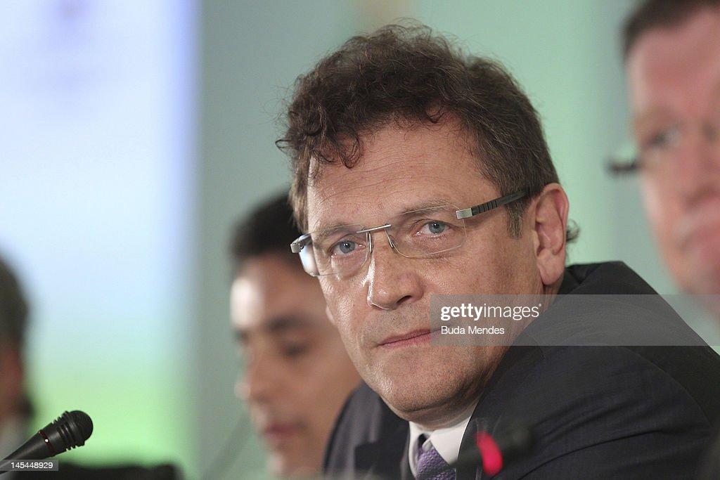 FIFA Announces Host Cities of Copa Confederaciones 2013 : News Photo