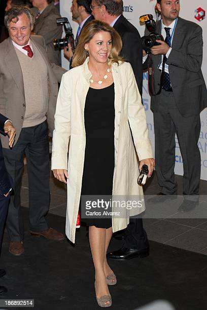 General Secretary Maria Dolores de Cospedal attends 'La Razon' Newspaper 15th Anniversary on November 4 2013 in Madrid Spain