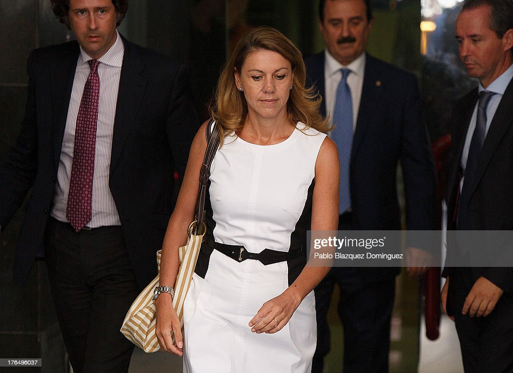 General Secretary Of Spanish PP Attends Court As A Witness Over Corruption Charges