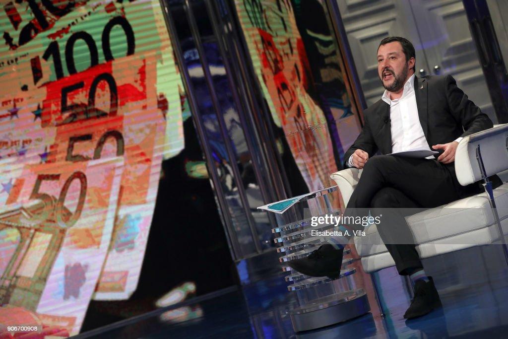 Porta a Porta Tv Show - January 18,2018