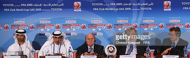 General secretary of the Abu Dhabi Sports Council his excellency Mohammed Ibrahim Al Mahmood Mohammed Khalfan AlRumaithi president of United Arabic...