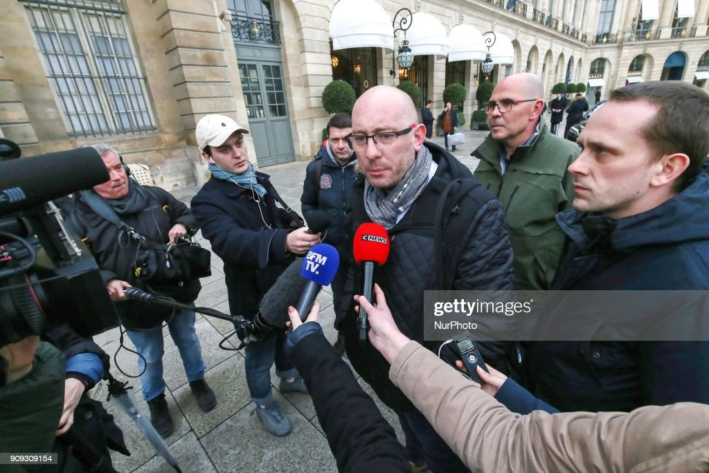 Penitentiary unions meet the Justice ministry in Paris