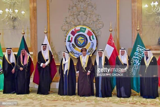 General Secretary of the Gulf Cooperation Council Abdullatif bin Rashid alZayani Kuwaiti Crown Prince Sheikh Nawaf alAhmad alSabah Qatari Emir Sheikh...
