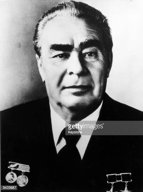 General Secretary of the Soviet Communist Party Leonid Ilyich Brezhnev