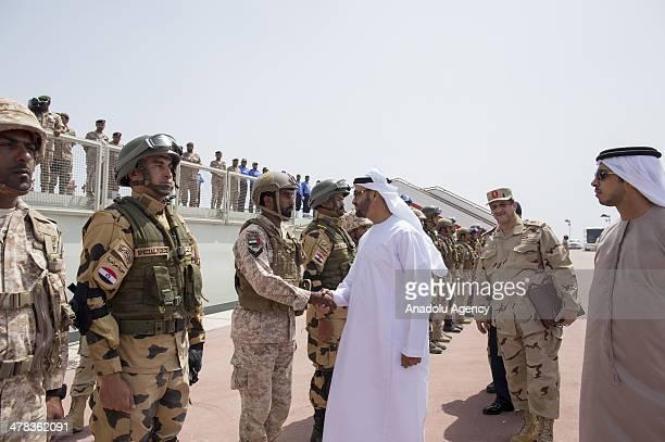 Mansour bin zayed al nahyan im genes y fotograf as getty for Al white motors manchester