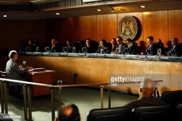 THE BLACKLIST 'General Shiro ' Episode 607 Pictured Mark LinnBaker as Dr Jonathan Nikkila Randy Kovitz as Committee Chairman Clark Carmichael as...