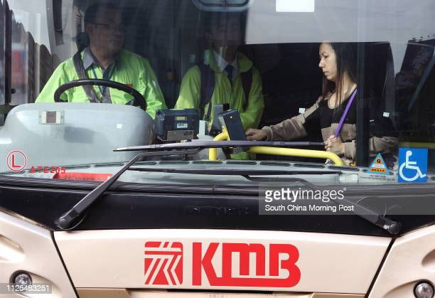 General shot of Kowloon Motor Bus at at the CrossHarbour Tunnel Toll Plaza bus stops at Hung Hom The Executive Council has approved an average fare...