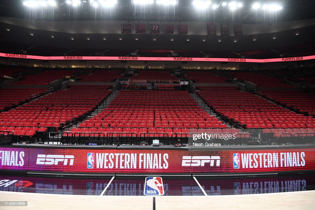 OR: Golden State Warriors v Portland Trail Blazers - Game Four
