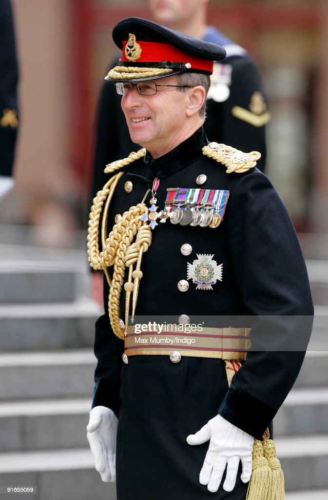 General Sir David Richards, Chief of the General Staff, attends a service of commemoration to mark the end of combat operations in Iraq at St Paul's Cathedral on October 9, 2009 in London, England.