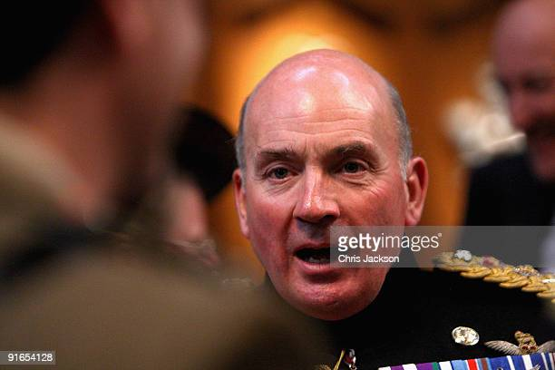 General Sir Richard Dannatt attends a reception at London Guildhall after a Service of Commemoration to mark the end of combat operations in Iraq on...
