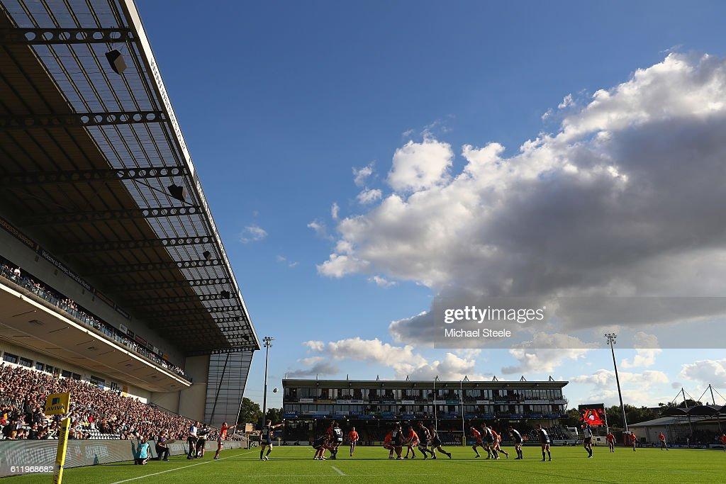 Worcester Warriors v Newcastle Falcons - Aviva Premiership : News Photo