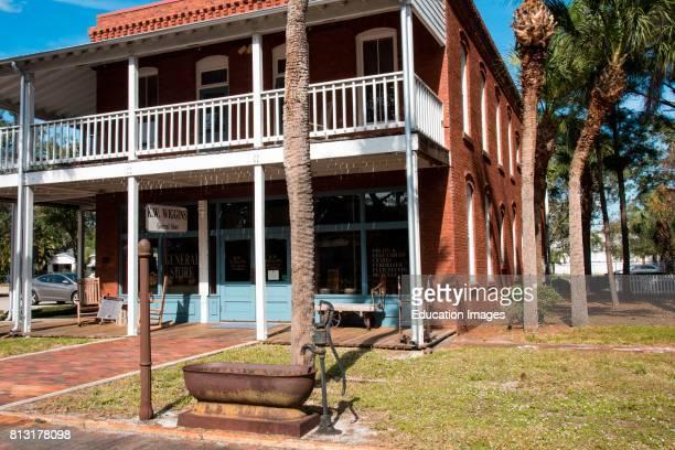 General store in Manatee Village Historical Park Bradenton Florida