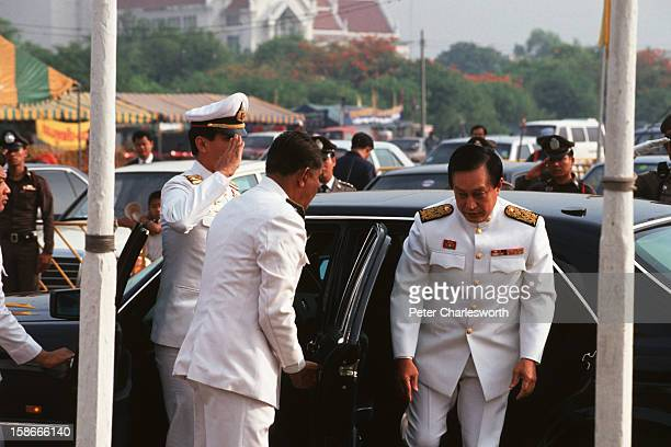 General Suchinda Kraprayoon selfdeclared Prime Minister Supreme Commander of the Thai Armed Forces recent coup leader and former leader of the...