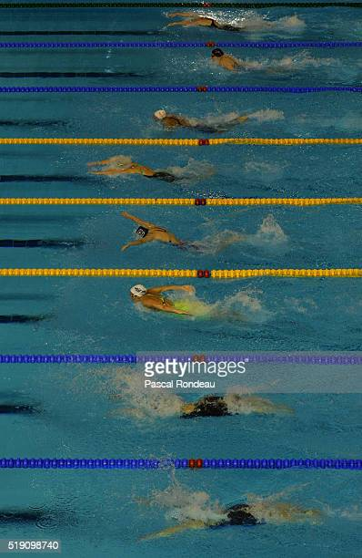 General Swimming illustration during the French Swimming Championships on April 2 2016 in Montpellier France