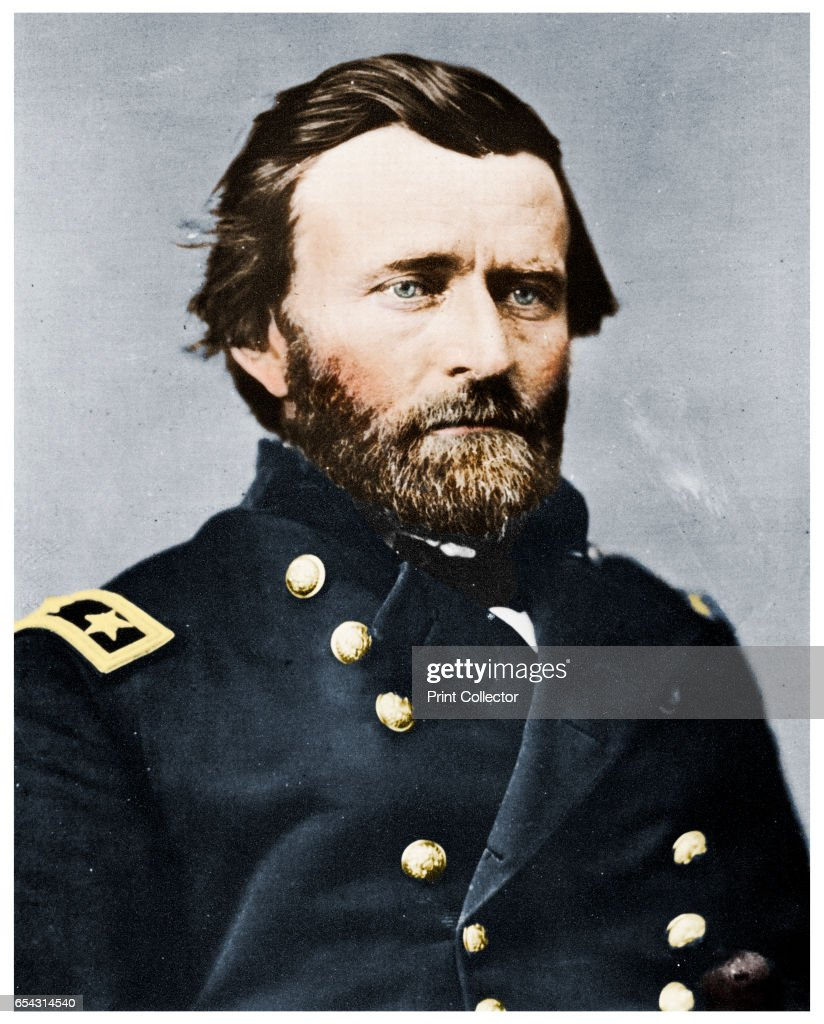 General Ulysses S Grant, American Soldier And Politician, C1860S (1955) : News Photo