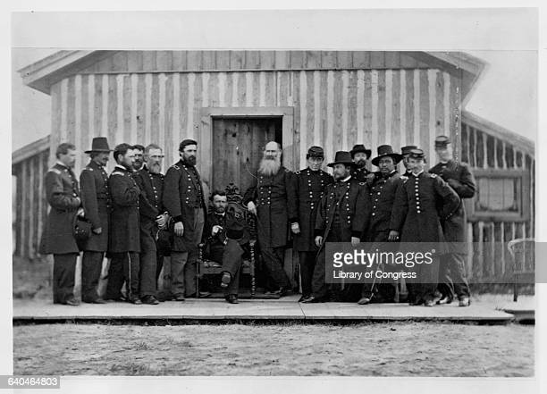 General Ulysses S Grant with Chiefs of Staff