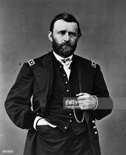 General Ulysses Simpson Grant later the 18th President of the United States