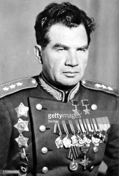 General Vasily Chuikov Commander Of 62nd Army News Photo