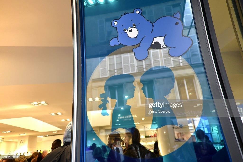 A general veiw of atmosphere during the Boy Meets Girl x Care Bears Collection at Colette on February 14, 2017 in Paris, France.