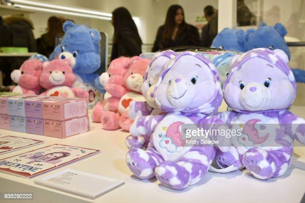 A general veiw of atmosphere during the Boy Meets Girl x Care Bears Collection at Colette on February 14 2017 in Paris France